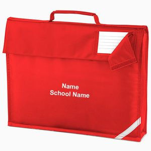 Personalised School Book Bag
